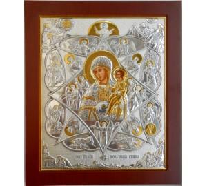 Ікона Пресвятої Богородиці Неопалима Купина (CLASSIC)