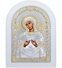 Икона Пресвятой Богородицы СЕМИСТРЕЛЬНАЯ (152-W)