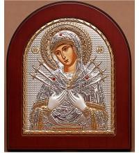 Икона Пресвятой Богородицы Семистрельная (ek152xag)