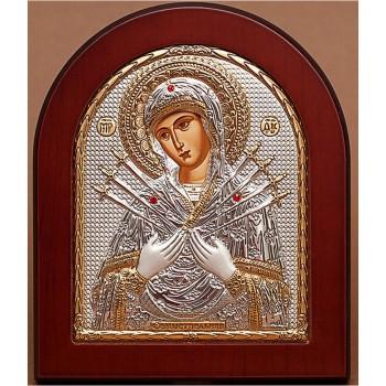 Семистрельная икона Богородицы купить