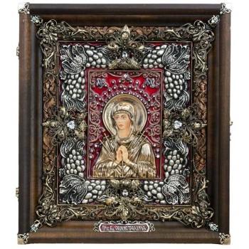 Икона Пресвятой Богородицы Семистрельная - великолепная икона, ручная работа (Ос-ЛБСс13)