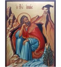 Икона Пророк Илия - писаная икона (Гр-83)