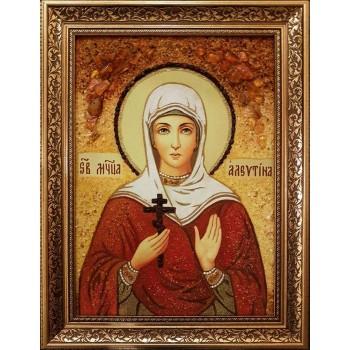 Икона святая мученица Алевтина Кесарийская, купить именную икону Алевтина|| Иконный Двор Киев