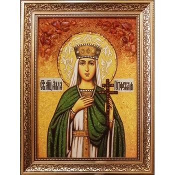 Икона святая мученица Алла Готфская, купить именную икону Аллы || Иконный Двор Киев