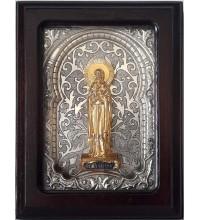 Икона Святая мученица Наталия - именная икона, с серебром (юл-54)