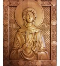 Икона Святая Наталия - икона из натурального дерева (р-29)