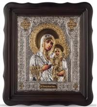 Икона святая праведная Анна, мать Богородицы - икона, с серебром и позолотой (Хм-67)