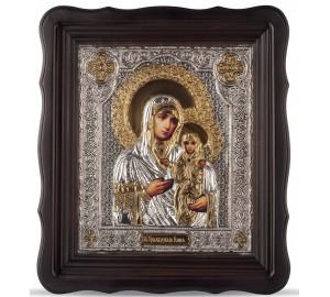 Икона святая Анна - именная икона, с серебром и позолотой (Хм-67)