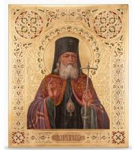 Икона Святитель Лука Крымский и Симферопольский - писаная икона, с сусальным золотом (НП-01)