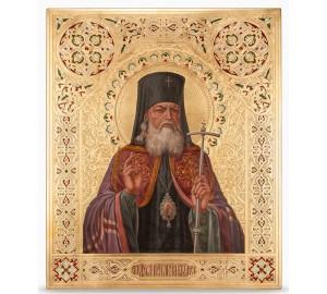 Ікона Святитель Лука Кримський і Сімферопольський - ікона писана, з сусальним золотом (НП-01)
