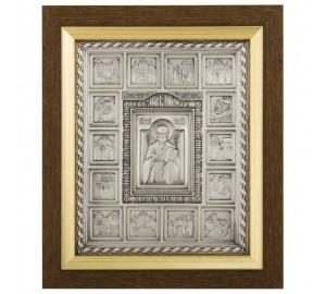 Икона Святителя Николая с житием (ЮЛ-24)