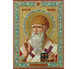Икона Святителя Спиридона Тримифунтского (ир-2/1)