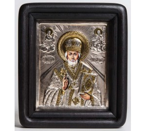 Икона Святого Николая Чудотворца (хм-46)