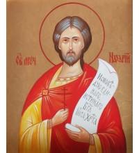 Икона Святого великомученика Назария - писаная икона (хм-20)