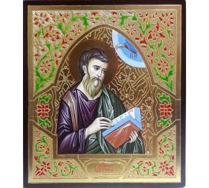 Икона святой апостол Матфей (Матвей) - писаная икона (ВЧ-22)