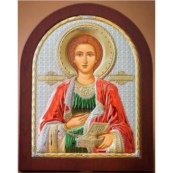Икона Святой Пантелеймон - покровитель врачей, моряков и военных (EK023XAG/C)