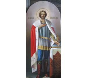 Икона Святому князю Александру Невскому (сч-31)