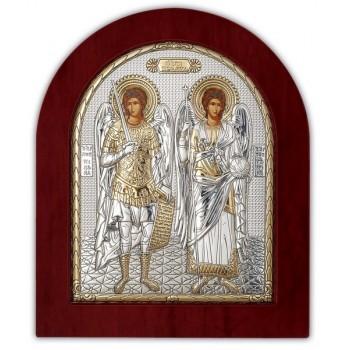 Икона Святых Архангелов Михаила и Гавриила - Греческая Икона (GOLD)