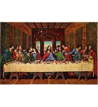 Ікона Таємна вечеря - ікона з янтаря, 50*80 см (ар-98)