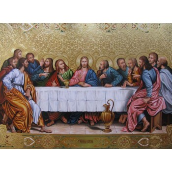 Ікона Таємна вечеря - ікона писана (Гр-45)