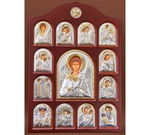 Иконостас - центральная икона Ангел-Хранитель (01.04.A.172)