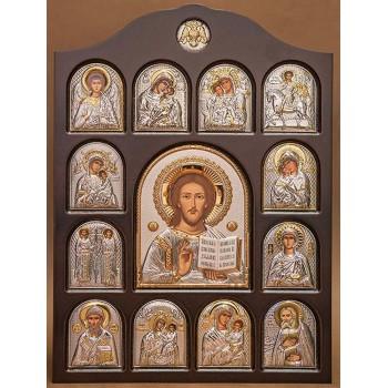 Иконостас - центральная икона Иисус Христос (01.04.И.001)