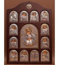 Іконостас - центральна ікона Ікона Божої Матері Остробрамської (01.04.Про.19.02)
