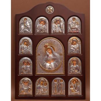 Иконостас - центральная икона Икона Божьей Матери Остробрамская (01.04.О.19.02)