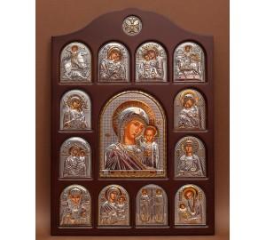 Иконостас - центральная икона Казанская Божья Матерь (01.04.К.19.02)