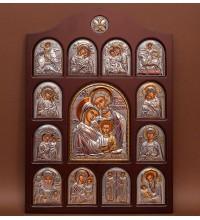 Иконостас - центральная икона Святое Семейство (01.04.СС.19.02)