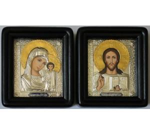 Иконы для венчания Господь Вседержитель и Божья Матерь Казанская (Гр-77)