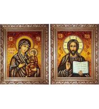 Ікони Ісус Христос і Божа Матір Іверська (арп-11)