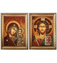 Ікони Ісус Христос і Божа Матір Казанська (арп-10)