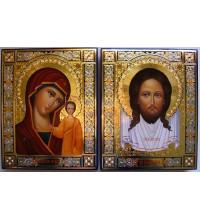 Ікони Спас Нерукотворний і Казанська Богородиця (Гр-91)