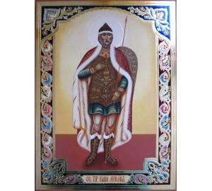 Илия Муромец Печерский - писаная икона (Гр-70)