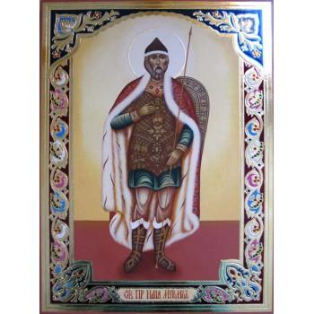 Ілля Муромець Печерський - ікона писана (Гр-70)