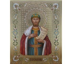 Изысканная писаная икона Святой Владислав (Дм-23)
