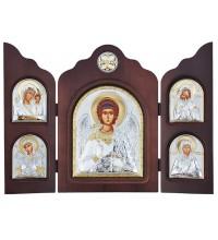 Гарний складень з трьох частин Ангел-Хранитель - незамінний подарунок на всі випадки життя (ск-АХ)