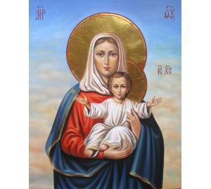 Леушинская Ікона Богородиці - чарівна ікона писана (Гр-09)