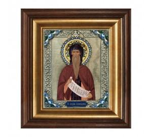 Максим исповедник - икона с серебром (k-01)