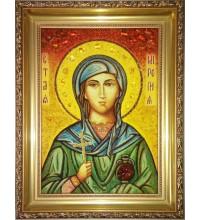 Миропия Хиосская - ікона з бурштином (ар-310)