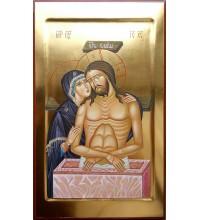 Не Рыдай Мене Мати - писаная икона (ВЧ-28)