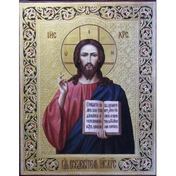 Неперевершена ікона писана Господь Вседержитель (Ір-24)