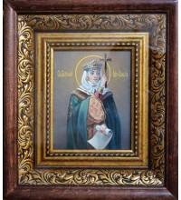 Ольга - Красивая писаная икона в киоте (сч-10)