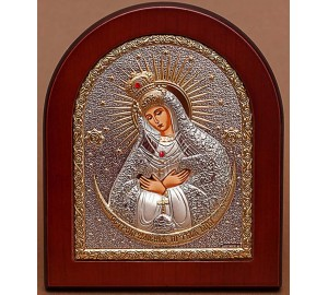 Остробрамская икона Божией Матери - защита дома от недобрых людей (GOLD)