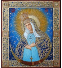 Остробрамская Пресвятая Богородица - Писаная Икона (ир-9)