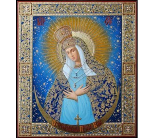 Остробрамська Пресвята Богородиця - Ікона Писана (il-9)