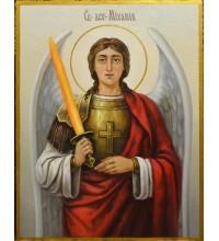 Писаная икона Архангел Михаил (сч-32)