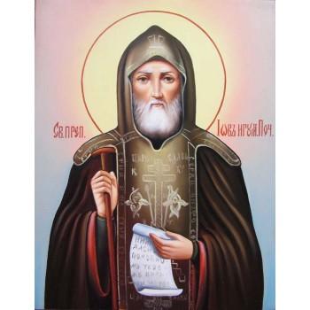Писаная икона Иов Почаевский, чудотворец (Гр-18)