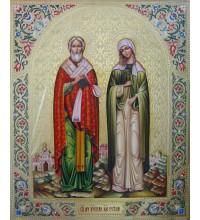 Ікона писана Кіпріан і Иустиния